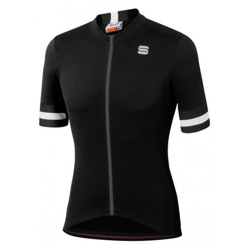 Μπλούζα με κοντό μανίκι Sportful KITE Jersey S/S - Black