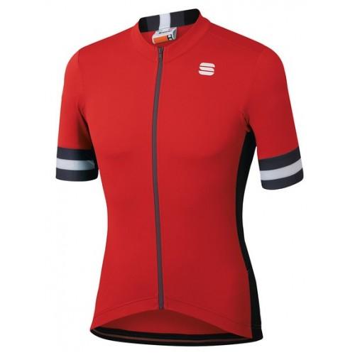 Μπλούζα με κοντό μανίκι Sportful KITE Jersey S/S - Red