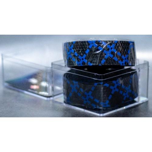 Ταινία τιμονιού κούρσας XON XBG-GR-01 Μαύρο/Μπλέ
