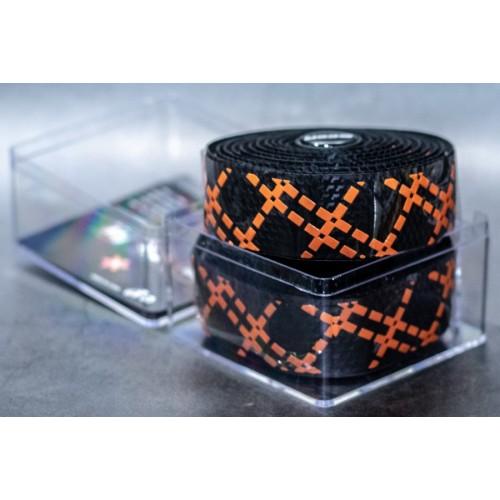 Ταινία τιμονιού κούρσας XON XBG-GR-01 Μαύρο/Πορτοκαλί
